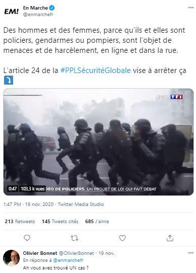 """""""Protéger ceux qui nous protègent"""" : foutaise !"""