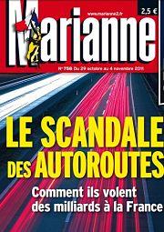 Marianne a souvent abordé le sujet, comme l'atteste cette couverture de novembre 2011.